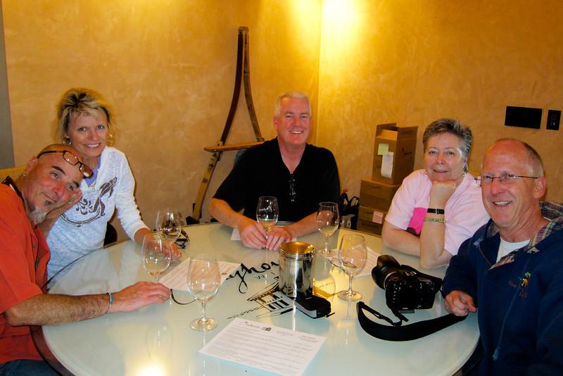 Tasting at Clayhouse winery