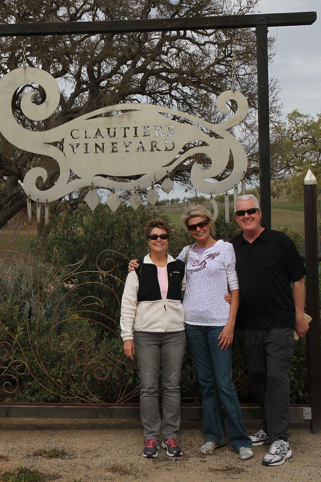 At Clautiere Winery (obviously).  :-)