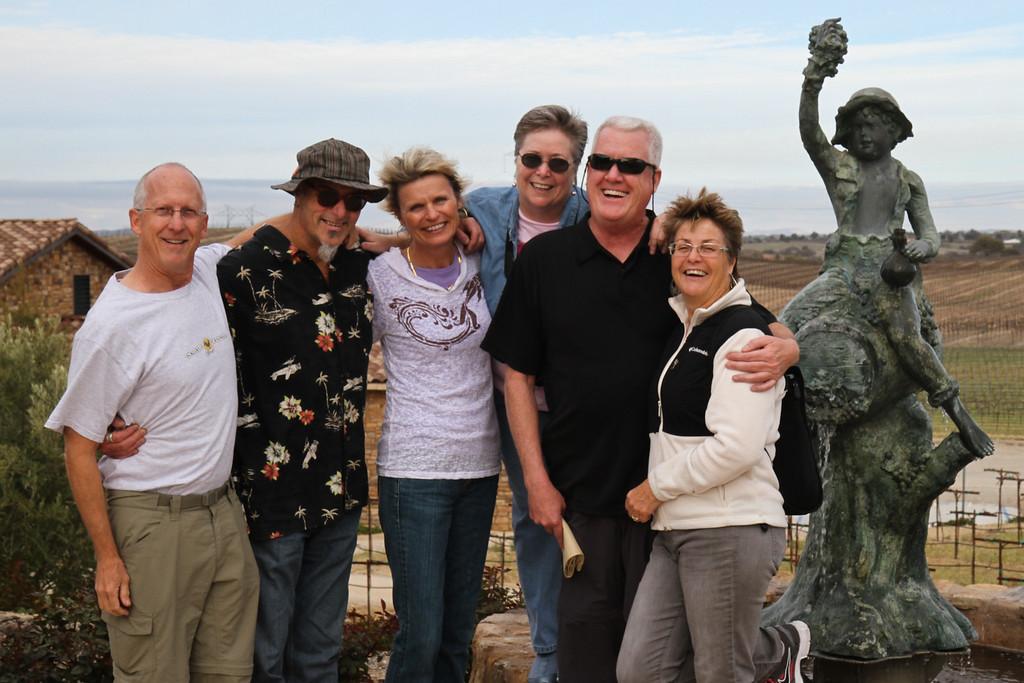 The gang at Pear Valley
