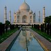 Sunset, Taj Mahal.