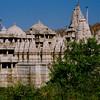 Jain marble temple at Ranakpur (1495).