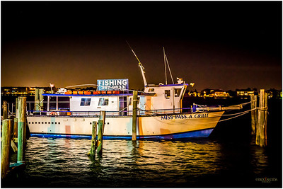 The local charter boat, Miss Pass-a-Grille.