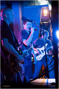 A local band's music rocks the night.