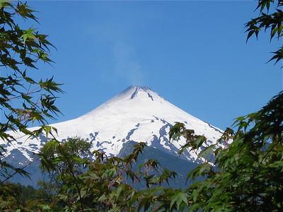 Volcan Villarica. Patagonië, Chili.