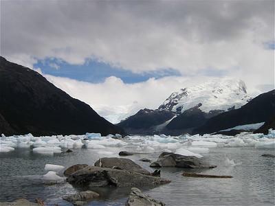 Lago Onelli. Patagonië, Argentinië.