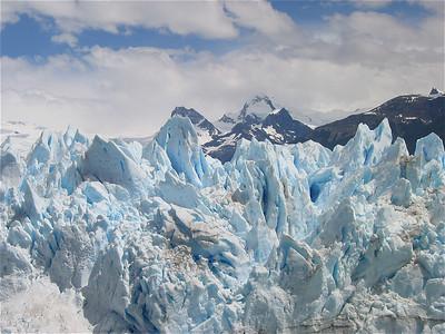 Ice! Perito Moreno. Patagonië, Argentinië.