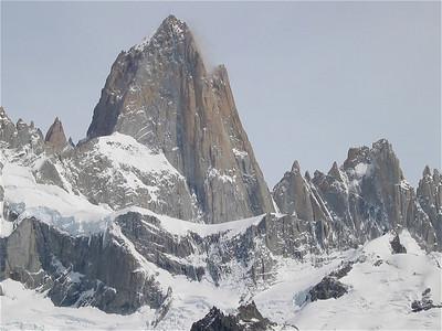 Mount Fitzroy. Parque Nacional los Glaciares. Patagonië, Argentinië.