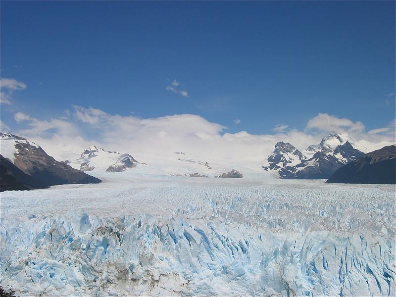 Perito Moreno Ice Field. Patagonië, Argentinië.