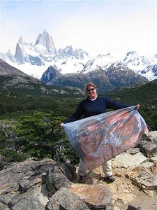 Mount FitzRoy. Patagonië, Argentinië.