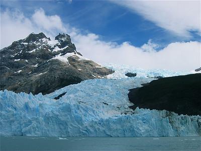 Spegazzini Glacier. Patagonië, Argentinië.