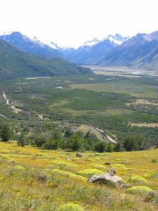 Parque Nacional Los Glaciares. Patagonië, Argentinië.