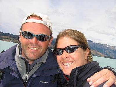 Teamfoto Parque Nacional Los Glaciares. Patagonië, Argentinië.