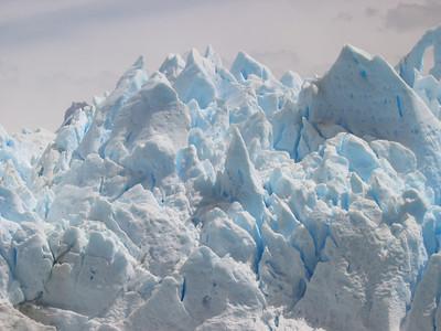 Ice Peaks. Patagonië, Argentinië.