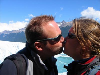 Kusjes! Patagonië, Argentinië.