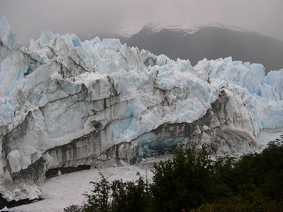 This is one of the few advancing glaciers in the world