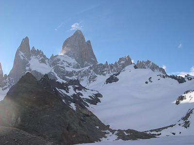 Fitz Roy from terminal glacial morraine