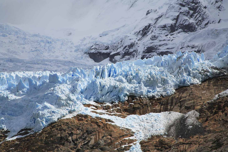 41. Balmaceda glacier close up.