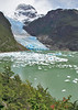 42. We disembark and take a short hike to the Serrano glacier.