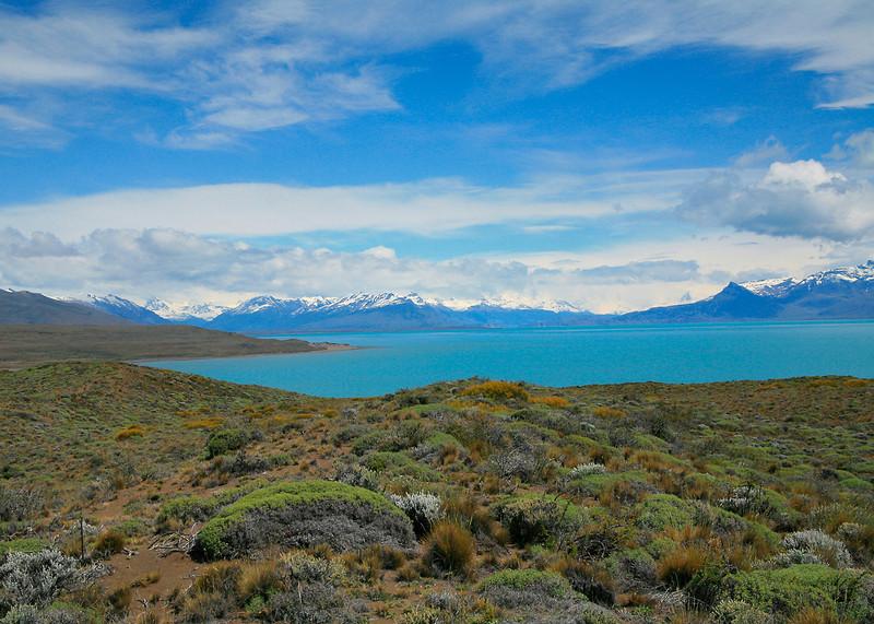 11. Lago (Lake) Argentino, adjacent to El Calafate.