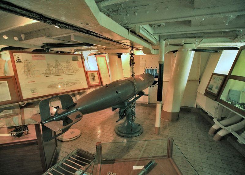 07. Torpedo room in the ship