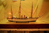 "06. Model of the frigate, ""Presidente Sarmiento."""