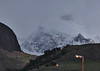 17. Peaks, and street lights of El Chalten.