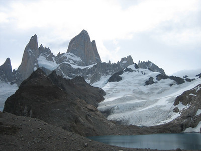 Fitz Roy at the top of the hike.
