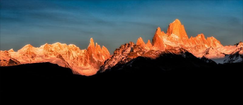 Sunrise, Fitz Roy range