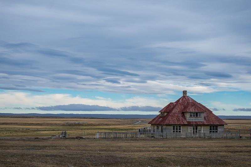 Abandoned estancia, Tierra del Fuego
