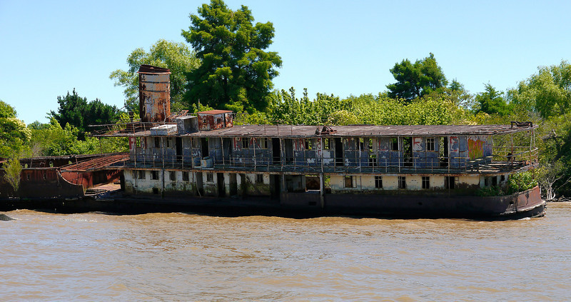 "OAT Patagonia trip, Dec 2013.<br /> Buenos Aires delta area, Tigre.  No cars are allowed on these small delta islands<br /> so all traffic is via boat.  Kind of a resort area for the people of Buenos Aires.<br />  <a href=""http://en.wikipedia.org/wiki/Tigre"">http://en.wikipedia.org/wiki/Tigre</a>,_Buenos_Aires"
