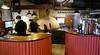 OAT Patagonia trip, Dec 2013.<br /> I get a pizza to-go at a pizza restaurant in El Calafate, Argentina.