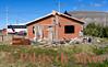OAT Patagonia trip, Dec 2013.<br /> Silvia's new house, under construction, in El Calafate, Argentina.