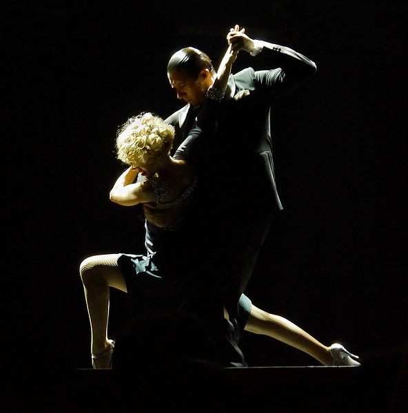 OAT Patagonia trip, Dec 2013.<br /> Tango Show on our last night in Buenos Aires.
