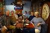 A group of us out for pizza in El Calafate, Argentina.