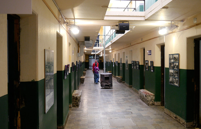OAT Patagonia trip, Dec 2013.<br /> The old Ushuaia Prison that closed in 1947 and is now a museum.