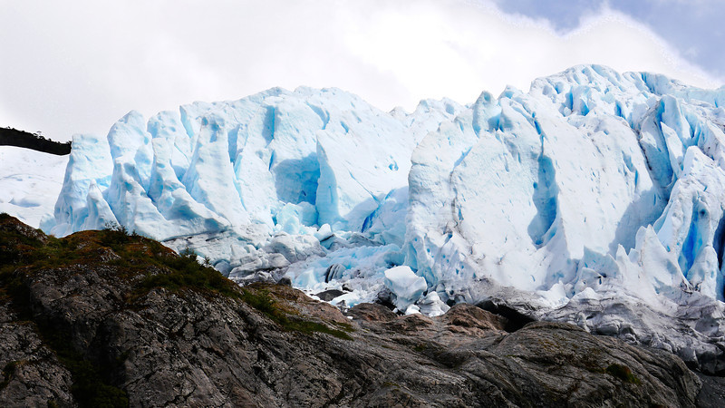 OAT Patagonia trip, Dec 2013.<br /> This portion of the tour took place on the Via Australis boat.<br /> Aguila Glacier.