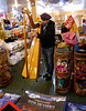 OAT Patagonia trip, Dec 2013<br /> This Harp player was in the souvenir shop/restaurant at the border crossing in Cerro Castillo, Chile.