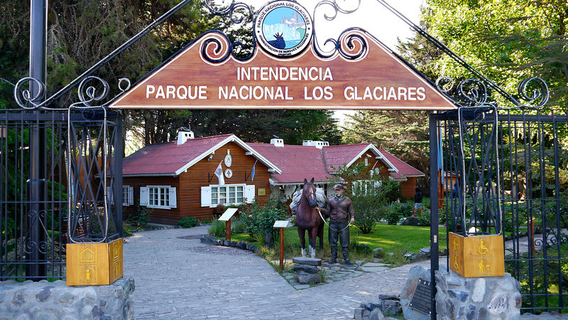 OAT Patagonia trip, Dec 2013.<br /> A little park a few blocks away from our hotel in El Calafate, Argentina.