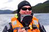 OAT Patagonia trip, Dec 2013.<br /> This portion of the tour took place on the Via Australis boat. One of the crew members.