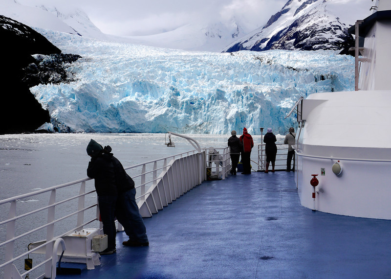 OAT Patagonia trip, Dec 2013.<br /> This portion of the tour took place on the Via Australis boat.<br /> Garibaldi Glacier.