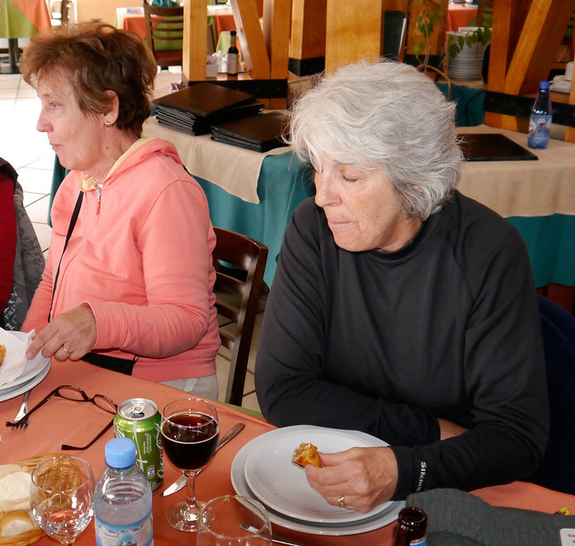 OAT Patagonia trip, Dec 2013.<br /> Restaurant where we had lunch today.