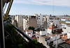 OAT Patagonia trip, Dec 2013.<br /> View from Maria's (home hosted dinner) balcony at her high-rise apt in Buenos Aires. 11 Dec 2013.