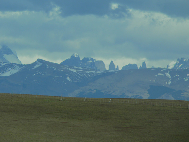 That is the back side of the Torres del Paine.