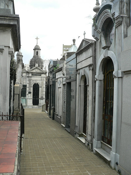 The creepy cemetary in Buenos Aires
