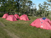 Our tents at the estanzia