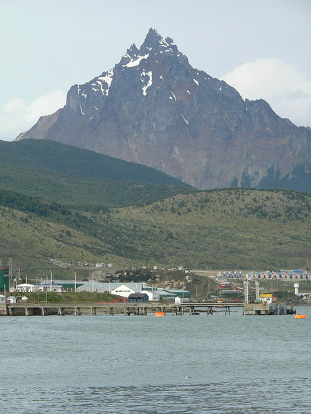 Ushuaia and Mount Olive