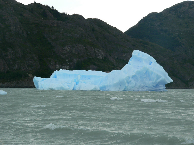 glacial icebergs are truly this blue