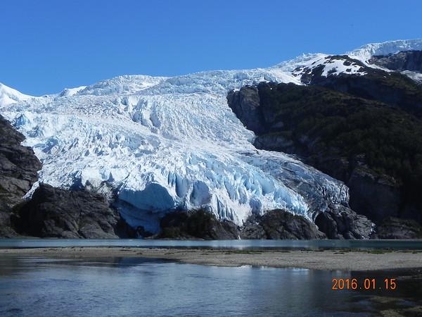 Channels; Aguila Glacier