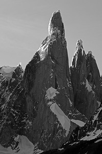 Cerro Torre, first scaled only in 1978.