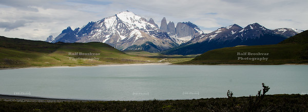 Amarga Lagoon at Torres del Paine National Park